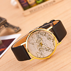 Women's  New Map Of The Personality Of The New Leather Leather Watch (Assorted Colors) Cool Watches Unique Watches