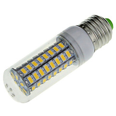 YWXLIGHT® 1pcs E14/E26/E27 18W 72 SMD 5730 1650LM Warm/Cool White LED AC 220-240V