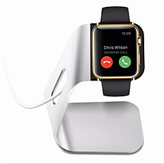aluminiumslegering opladning stå iwatch holder keeper for apple ur (assorterede farver)