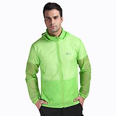 하이킹 탑스 남녀 공용 통기성 / 자외선 방지 여름 / 가을 옐로우 / 화이트 / 그린 / 핑크 / 블루 S / M / L / XL / XXL / XXXL 캠핑 & 하이킹 / 피싱 / 운동&피트니스 / 사이클링/자전거 / 달리기-스포츠