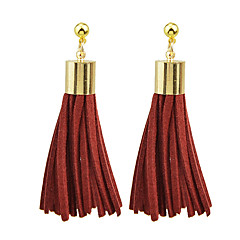 Earring Drop Earrings Jewelry Women Daily / Casual Alloy / Leather 1 pair Gold KAYSHINE