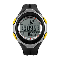 Skmei®Men's LED Pedometer 3D Multifunction Sports Watch 30m Waterproof Assorted Colors Wrist Watch Cool Watch Unique Watch