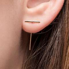 Copper Earring Stud Earrings Party / Daily / Casual 1 pair