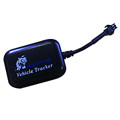 Mini global gps tracker realtime locator lbs / gsm / gprs 4 bands tracking anti-diefstal voor auto voertuig