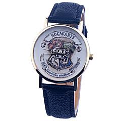 Dames Modieus horloge Kwarts PU Band Zwart / Wit / Blauw / Beige Merk-