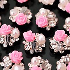 vackra mental ros spik smycke