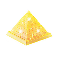 Jigsaw Puzzles 3D Puzzles / Crystal Puzzles Building Blocks DIY Toys Famous buildings ABS Gold Model & Building Toy