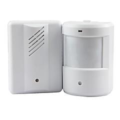 dørklokke alarm klokke doorbell trådløs infrarød skærm sensor detektor velkommen indgang musik klokke