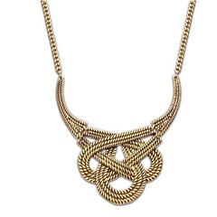 Halsband Uttalande Halsband Smycken Bröllop / Party / Dagligen / Casual Mode Legering Gyllene / Silver 1st Present