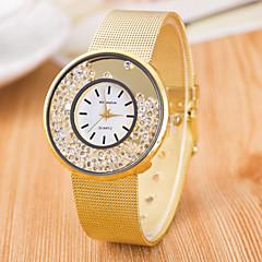 Women's Fashion Grid Quartz Steel Belt Wrist Watch(Assorted Colors)