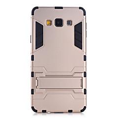 Na Samsung Galaxy Etui Odporne na wstrząsy / Z podpórką Kılıf Etui na tył Kılıf Zbroja PC Samsung A9 / A8 / A7