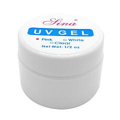 1PCS Nail Art UV Color Gel  (14ml,Assorted Colors)
