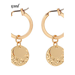 D Exceed 2016 Fashion Jewelry Gold Earrings For Women Alloy Statement Party