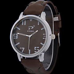 Men's Fashion Leather Strap Watch
