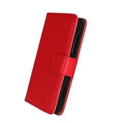 Varten Nokia kotelo Lomapkko / Korttikotelo / Tuella Etui Kokonaan peittävä Etui Yksivärinen Kova Tekonahka Nokia Nokia Lumia 820
