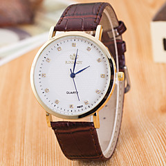 Women's Women Sport Watch Dress Watch Fashion Watch Wrist watch Quartz Genuine Leather Band Charm Casual Multi-Colored