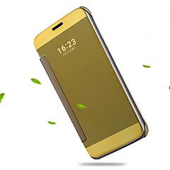 Για Θήκη LG Επιμεταλλωμένη / Καθρέφτης / Ανοιγόμενη / Διαφανής tok Πλήρης κάλυψη tok Μονόχρωμη Σκληρή Ακρυλικό LG LG G5