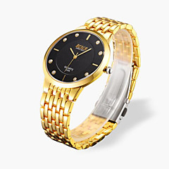 Men's Wrist watch Alloy, Diamond Quartz Watch Waterproof Casual(Assorted Colors) Cool Watch Unique Watch
