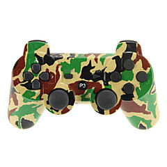 Camouflage Dual-Shock 3 Bluetooth V4.0 Wireless Controller for PS3