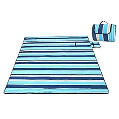 משטח קמפינג / מזרן לשינה / משטח לפיקניק / מחצלת כושר-עמיד ללחות / עמיד למים-EVA / כותנה(אפור / כחול / כחול כהה / כחול בהיר)