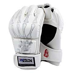 Sparring Grappling Fight Boxing Punch Ultimate Mitts Leather Gloves
