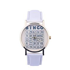 vintage klocka digital läderklockakvinna titta damer klockaman klocka unisex klocka