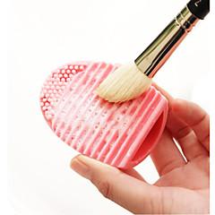 1 Outro Pincel Silicone Profissional Ecológico Antibacteriano sintético Hipoalergênico Viagem Portátil Resina Lábios Rosto Olhos Outros
