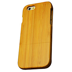For iPhone 6 Case / iPhone 6 Plus Case Ultra-thin / Other Case Back Cover Case Wood Grain Hard Bamboo for iPhone 6s Plus/6 Plus / iPhone
