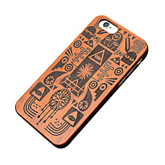 For iPhone 6 Case / iPhone 6 Plus Case Pattern Case Back Cover Case Wood Grain Hard Wooden for iPhone 6s Plus/6 Plus / iPhone 6s/6