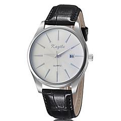 Men's Dress Watch Calendar Quartz Analog Wrist Watch Alloy Band Fashion Watch(Assorted Color) Cool Watch Unique Watch