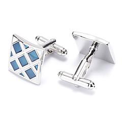 Mandzsettagomb Tie Bar Nyakkendőtű Ötvözet Manžete Férfi Ezüst