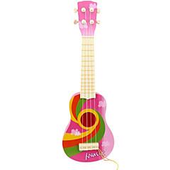 8 müzik aletleri oyuncak üstü çocuklar için plastik pembe simülasyon çocuk gitar