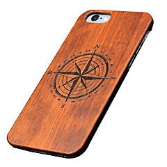 iphone 7 plus achterkant ultradunne / andere houten hardapple voor iPhone 6s 6 plus se 5s 5