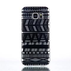 randmönster TPU material ringer fallet för Galaxy S4 / s4mini / S6 / S6 kant / s6 kant plus / S7 / s7 kant