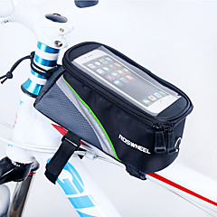 ROSWHEEL® Bisiklet Çantası 1.7LBisiklet Çerçeve Çantaları Su Geçirmez Fermuar / Nemgeçirmez / Darbeye Dayanıklı / GiyilebilirBisikletçi