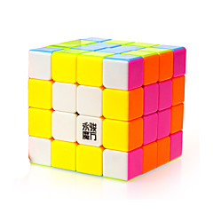Leksaker Magiska kuber Rubik Cube Yongjun® 4*4*4 Hastighet magic Toy Slät Hastighet Cube Magic Cube pussel Regnbåge ABS