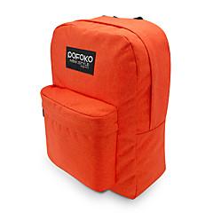 pofoko® 15.6 인치 방수 노트북 가방 핑크 / 레드 / 오렌지