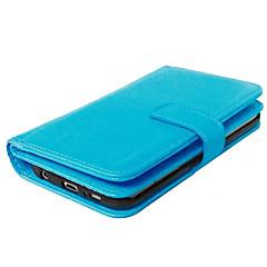 Высокое качество PU кожаный бумажник кобуры чехол для галактики s7 край / s7 / s6 край плюс / s6 край / s6 / s5 / s4
