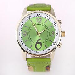 Couple's Watch GENEVA Geneva Colorful New Color Strap Quartz Watch(Assorted Colors)