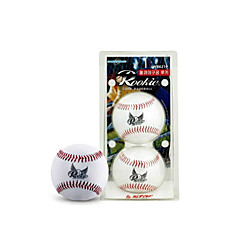 other Unisex Baseball Wearproof 9inch White 2 Pcs PVC