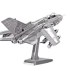 Pussel 3D-pussel / Metallpussel Byggblock DIY leksaker Flygplan Metal Rosa Modell- och byggleksak