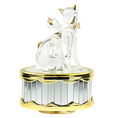 ABS White Creative Romantic Music Box for Gift