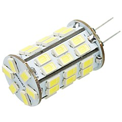 G4 Led Bulb 8W 42 x 5730 SMD LEDs 800 - 1200LM LED Corn Light LED Globe Bulbs DC12V