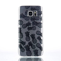 Ananas Muster tpu Material Telefonkasten für Galaxie s4 / s4mini / s6 / s6 Kante / Rand s6 plus / s7 / s7 Rand