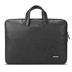 pofoko® 11.6 / 15.4 인치 노트북 슬리브 노트북 가방 블랙 / 그레이