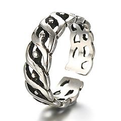 Gyűrűk Divat / Állítható Napi / Hétköznapi Ékszerek Ezüst Női / Férfi Midi gyűrűk / Karikagyűrűk 1db,Egy méret Ezüst