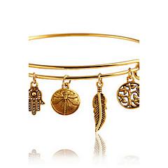 Γυναικεία Βραχιόλια Μοντέρνα Βοημία Style Κράμα Leaf Shape Κοσμήματα Για Καθημερινά Causal