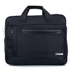 16inch plus grand sac à bandoulière extensionable pour ordinateur / homme / noir business