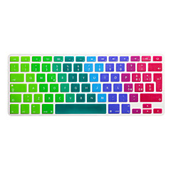 SoliconeKeyboard Cover For13.3 '' / 15.4 '' Macbook Pro med Retina / MacBook Pro / Macbook Air med Retina / MacBook Air