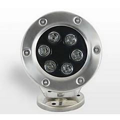 6W Lâmpada Subaquática 500 lm Branco Quente SMD Impermeável AC 24 V 1 Pças.